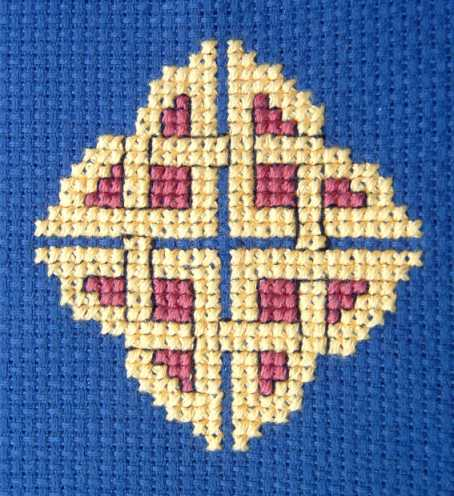 Celtic Knot Cross-Stitch