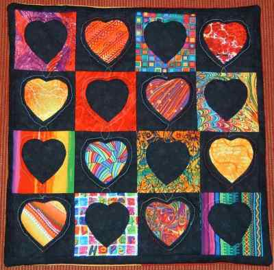 Pillow Cover - Hearts
