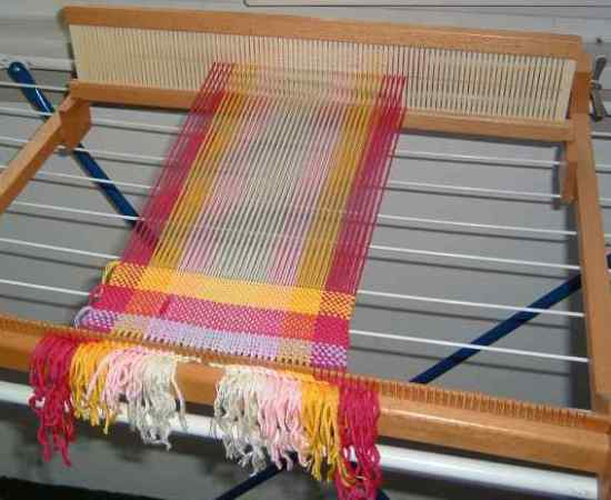 Woven Scarf - at the Beginning