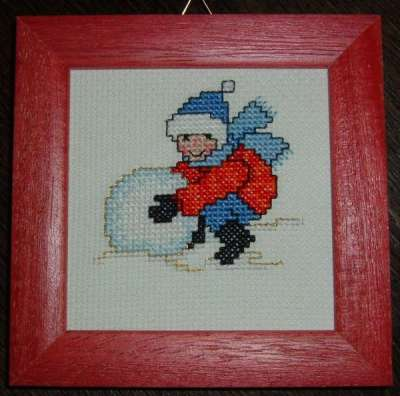 Cross-Stitch Winter - 2nd motif