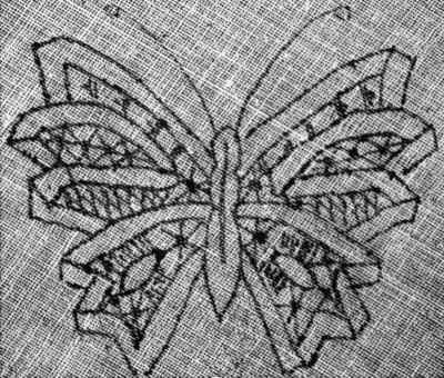 Art of Modern Lace Making - Butterfly Pattern