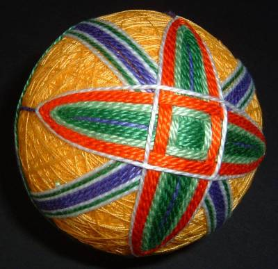 Yellow Temari Ball