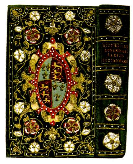 English Embroidered Bookbindings - Frontispiece