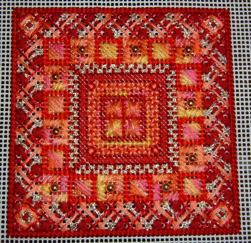 Needlepoint Box  Textile Dreams  Fibery Wake Up