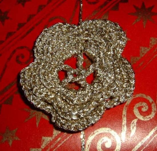 Irish Crochet Flower