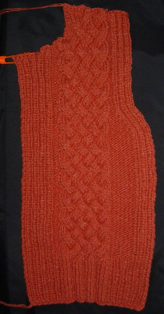 Winter Vest - Left Front
