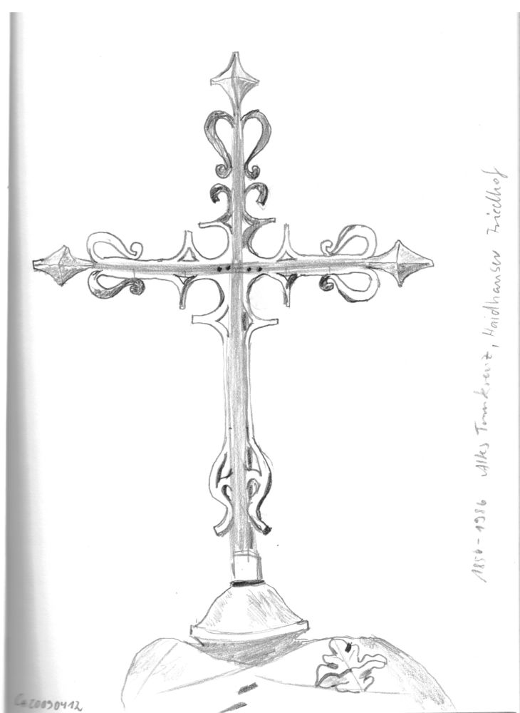 Lace Cross Drawing It's The Old Cross From The