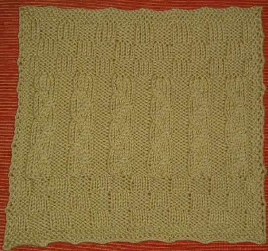 Cabled Square