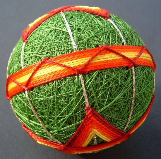 Temari, Five-pointed Star, Side View