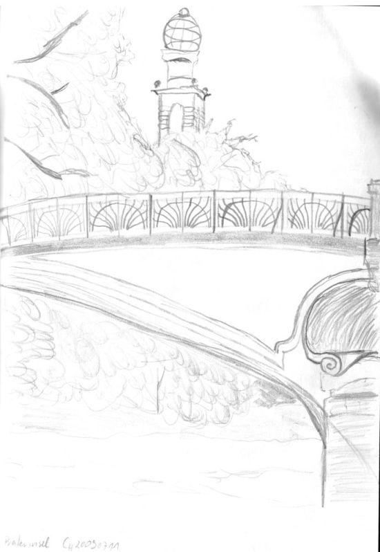 Bridge over River Isar