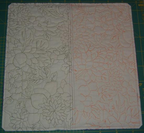 Fassett - Back of quilt