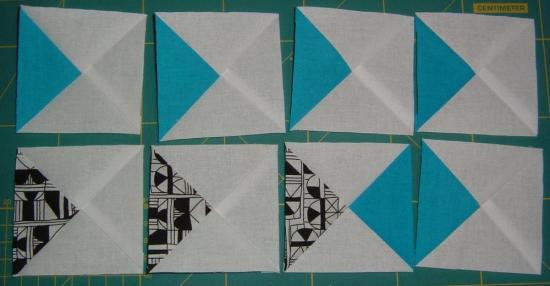 2014 Challenge - Quarter Squared Triangles