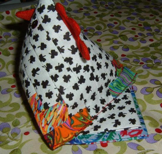 Chicken -- Back View