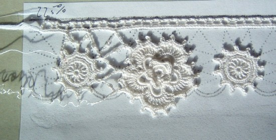 Irish Crochet Edging - this doesn't work