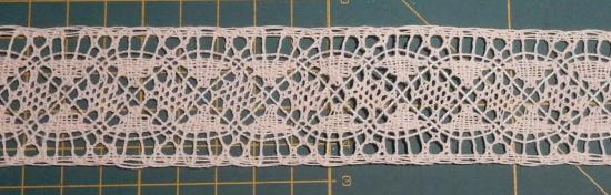 Bobbin Lace Strip - Detail
