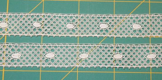 Flanders Lace - Bean Pattern, Detail
