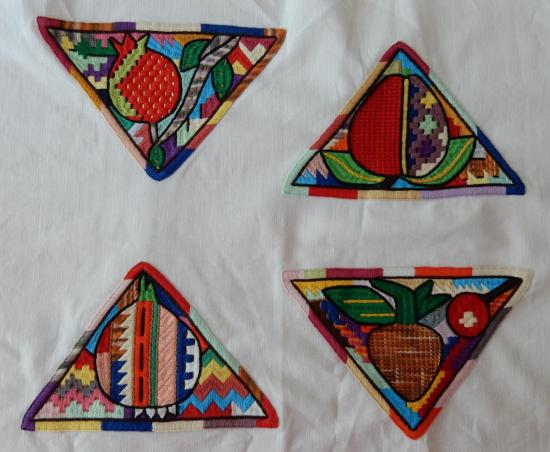 Afghan embroidery motifs