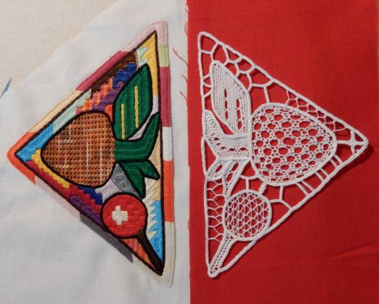 Afghan Embroidery and Needlelace Motifs