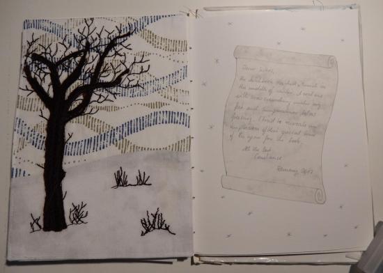 Page spread - Travelling Sketchbook