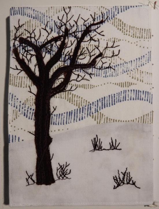 Winter Tree - Travelling Sketchbook