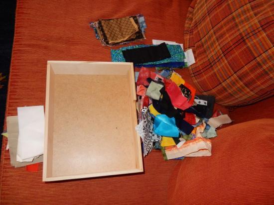 empty scrapbox