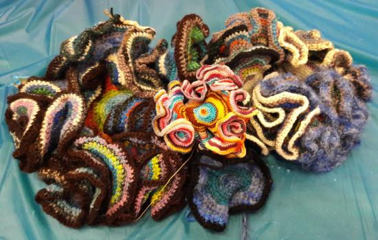 Hyperbolic Crochet Community Project @Worldcon75