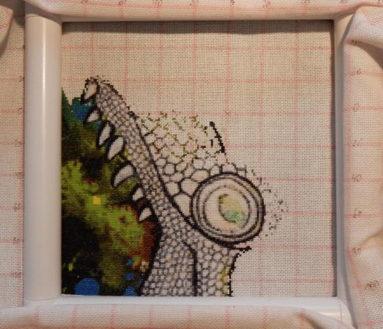 Green Iguana - Progress 2017-12-31