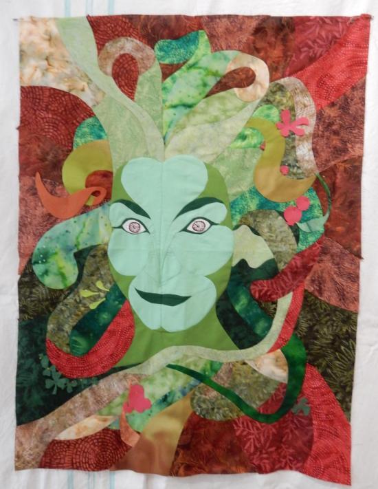 Green Woman 8/02